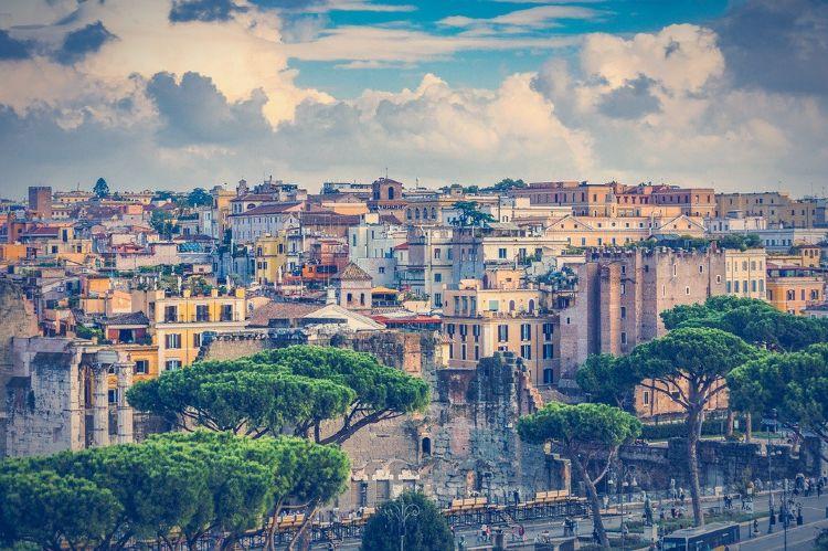 Vistas de Roma