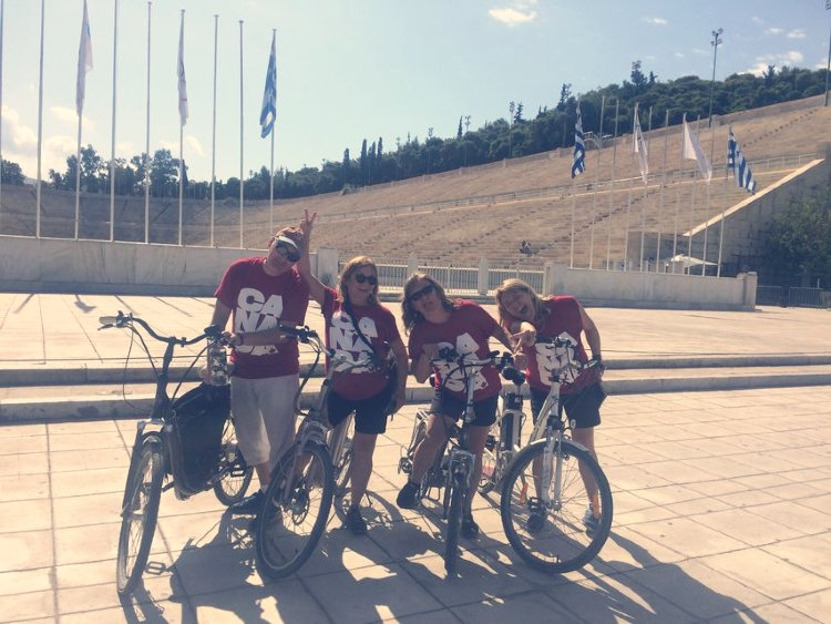 Atenas en bicicleta