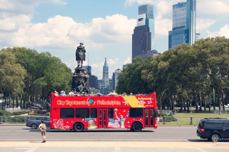 Autobús turístico Filadelfia