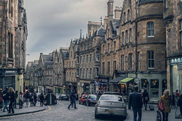 Qué ver en Edimburgo. Calle de Edimburgo
