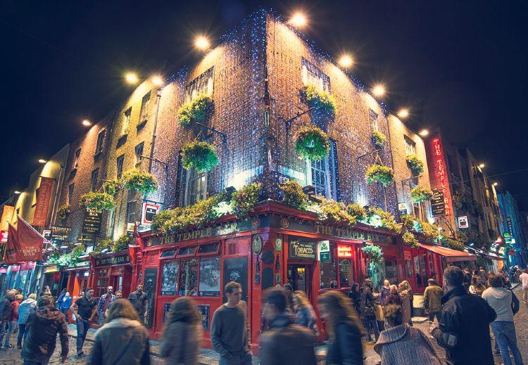 Dublin a pie