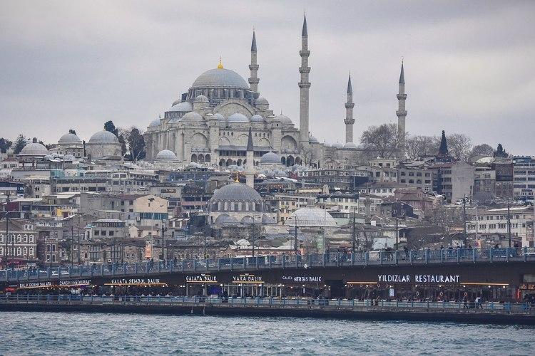 Panorámica de Estambul