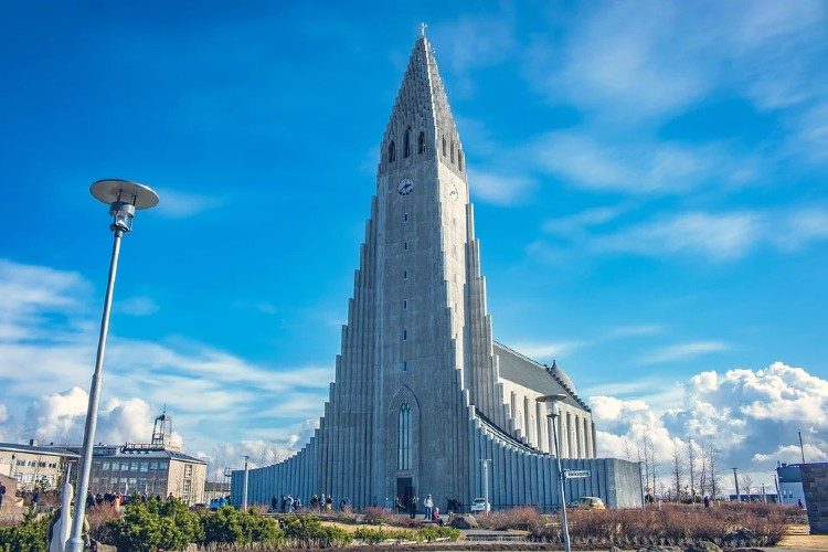 Iglesia de Hallgrímskirkja Reikiavik
