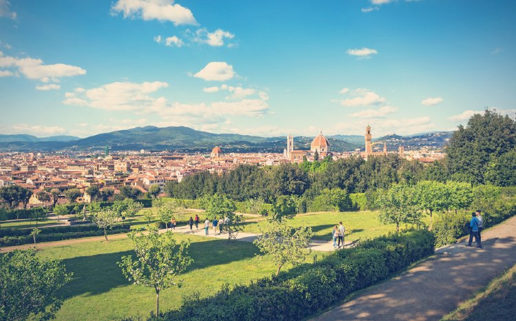 Jardines de Boboli, Florencia