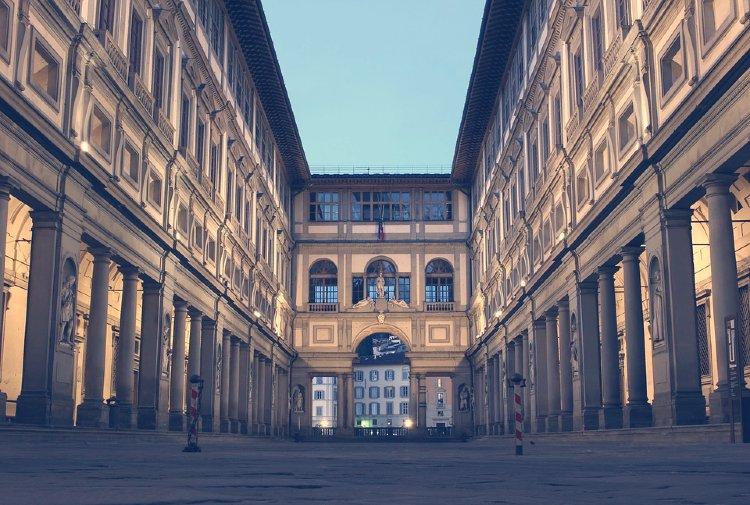 La Galería de los Uffizi