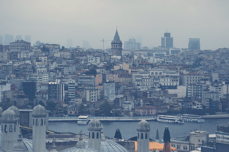 Panoramica de Estambul