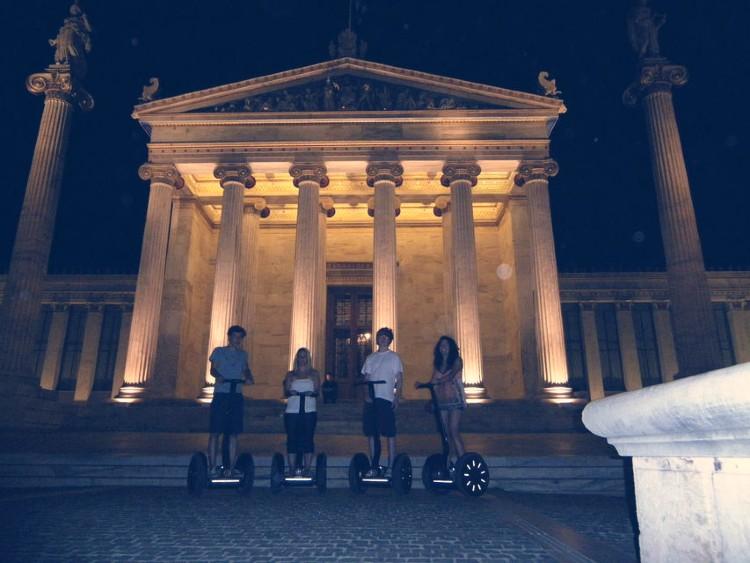 Segway nocturno por Atenas