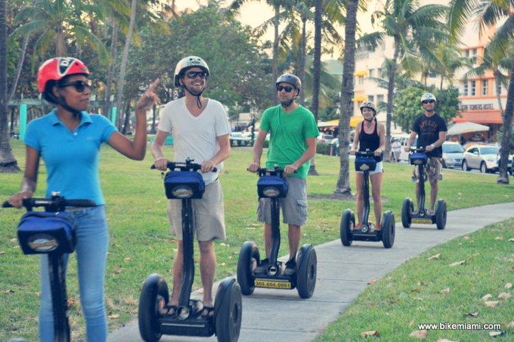 Segway por Miami