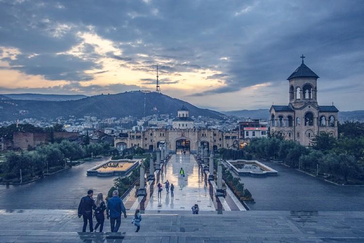 8 Destinos sorprendentes en europa. Tbilisi
