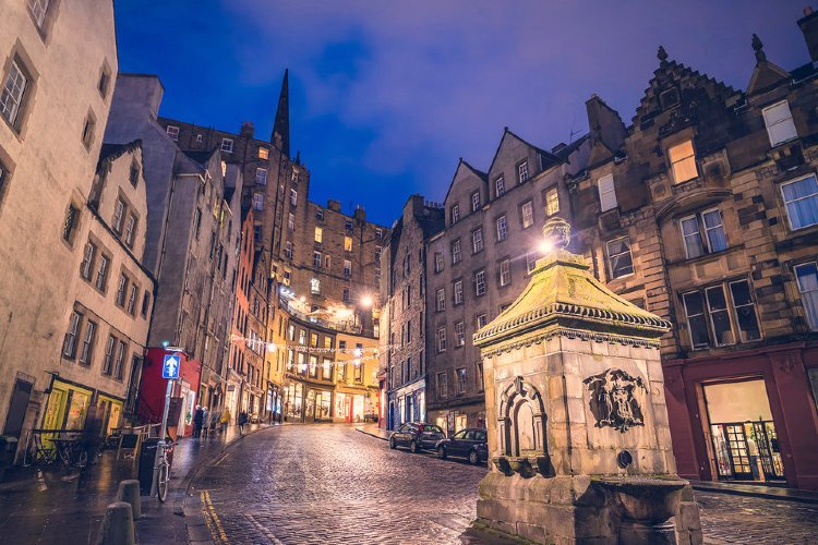 Tour de Harry Potter por Edimburgo