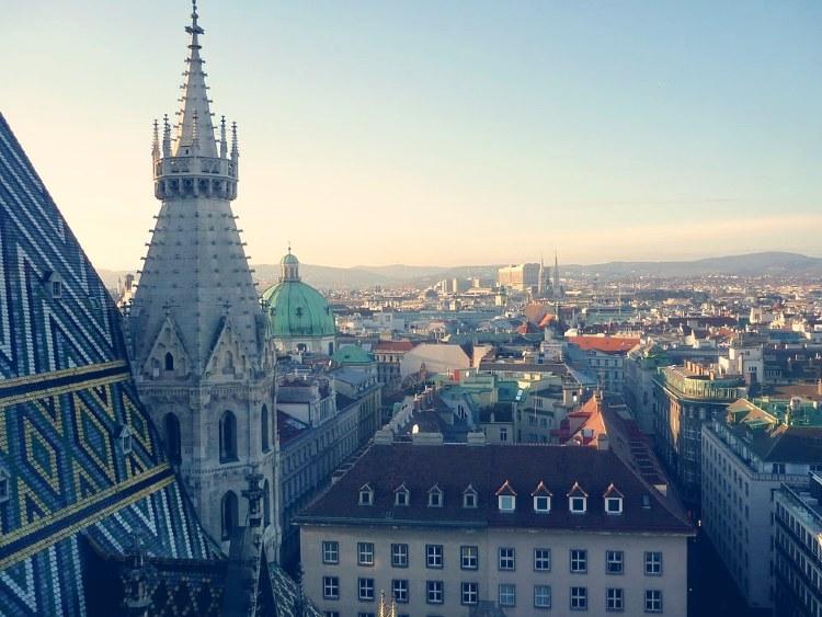Qué ver en Viena. Vistas de Viena desde la Catedral de San Esteban