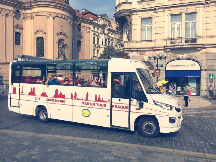 Bus Turístico por Praga