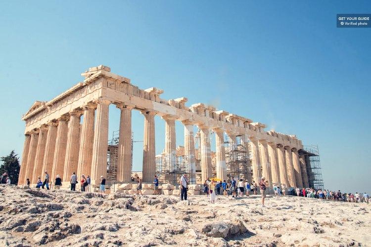 Explanada del Partenon de Atenas