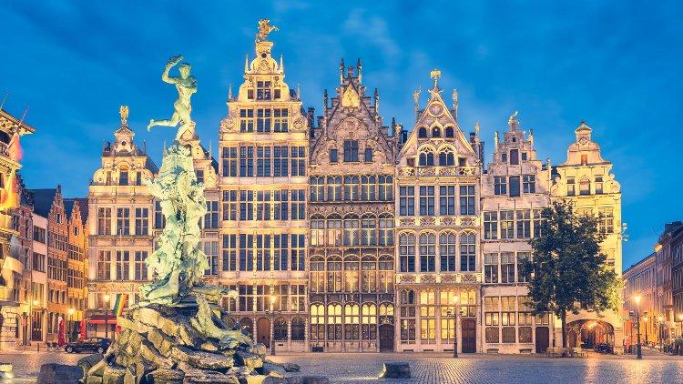 Plaza Mayor de Amberes, Bélgica
