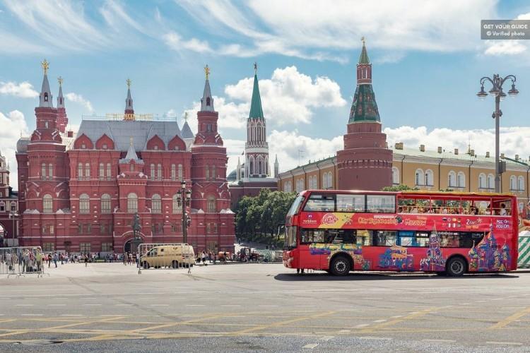 Qué ver en Moscú. Autobús turístico en Moscú