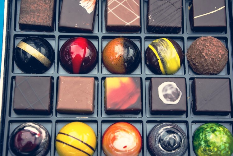 Chocolates de Suiza