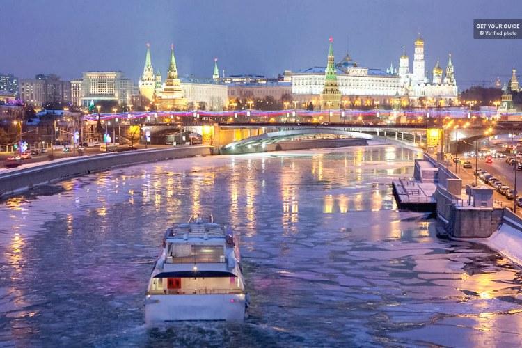 Crucero por Moscú