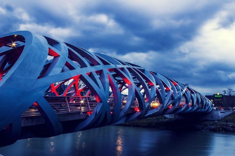 Puente Rolex en Ginebra