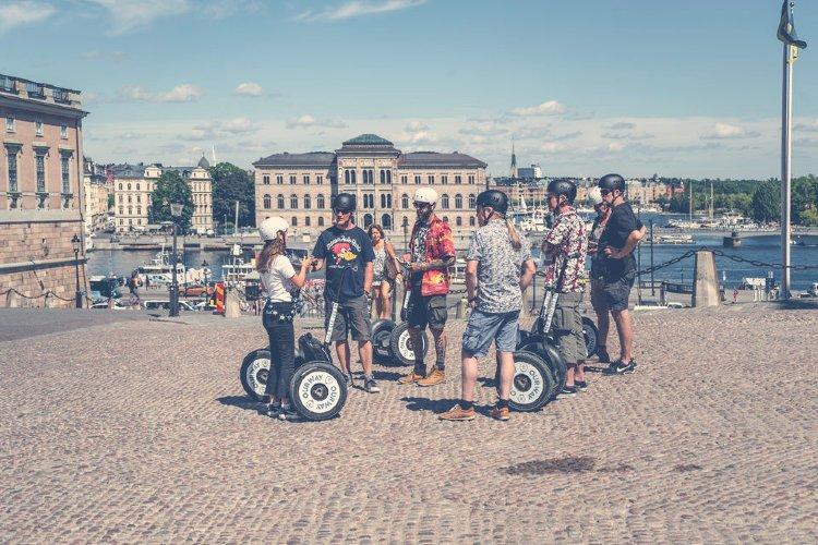 Qué ver en Estocolmo. Segway por Estocolmo