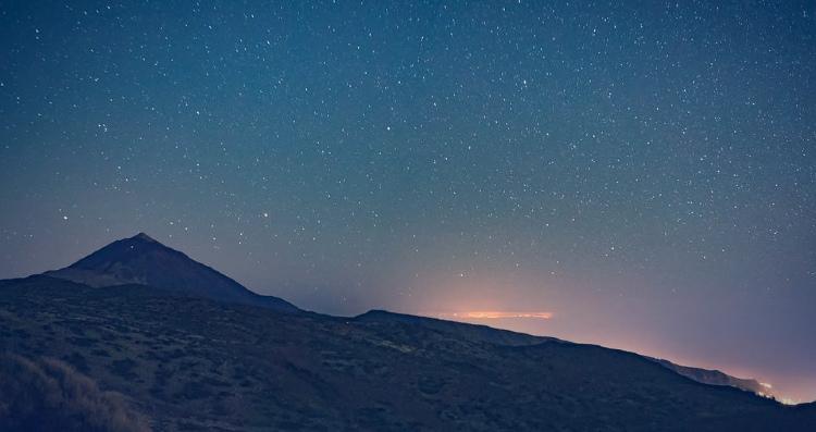 Ver las estrellas desde el Teide