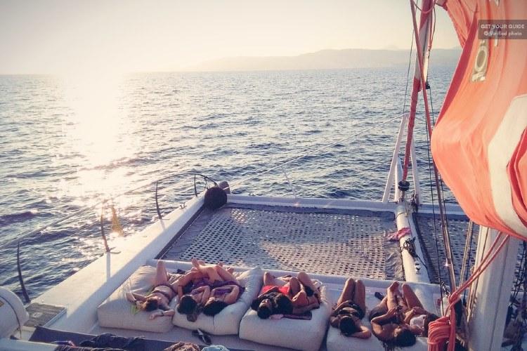 Catamarán en Palma de Mallorca