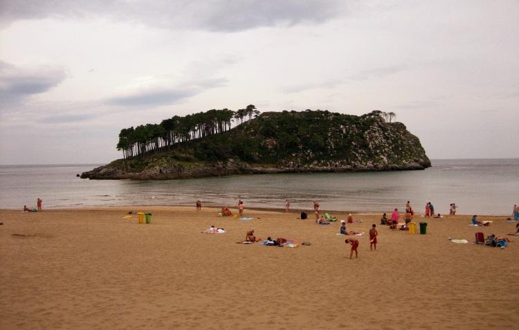 Playa de Karraspio, Mendexa, Bilbao