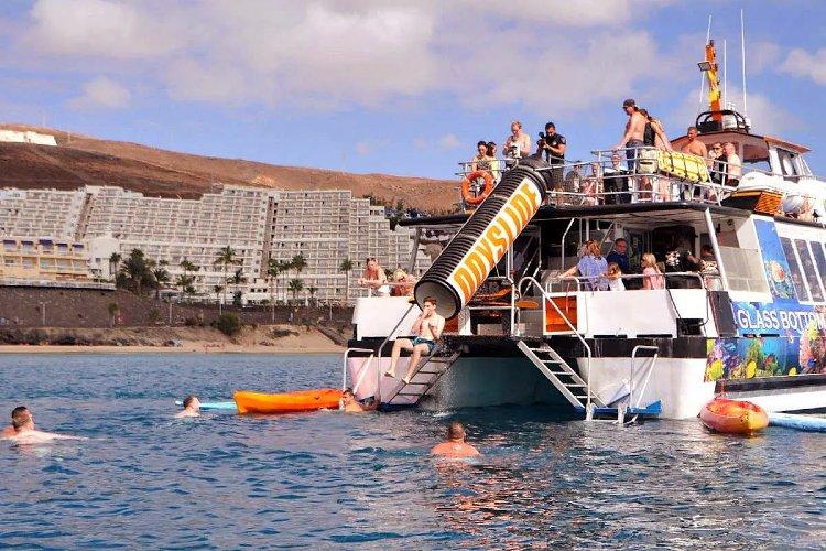 Barco en Playa de Sotavento, Fuerteventura